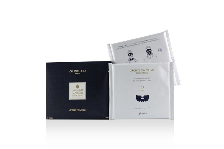 Guerlain Orchidee Imperiale Exceptional Complete Care The Imperial Radiance Mask 4sheets