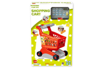 Toy Supermarket Trolley with Scanner & Sounds