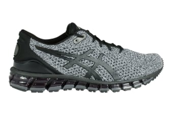 ASICS Men's Gel-Quantum 360 KNIT 2 Running Shoe (Black/White/Black, Size 7.5)