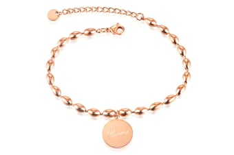 Love Note Bracelet-Rose Gold