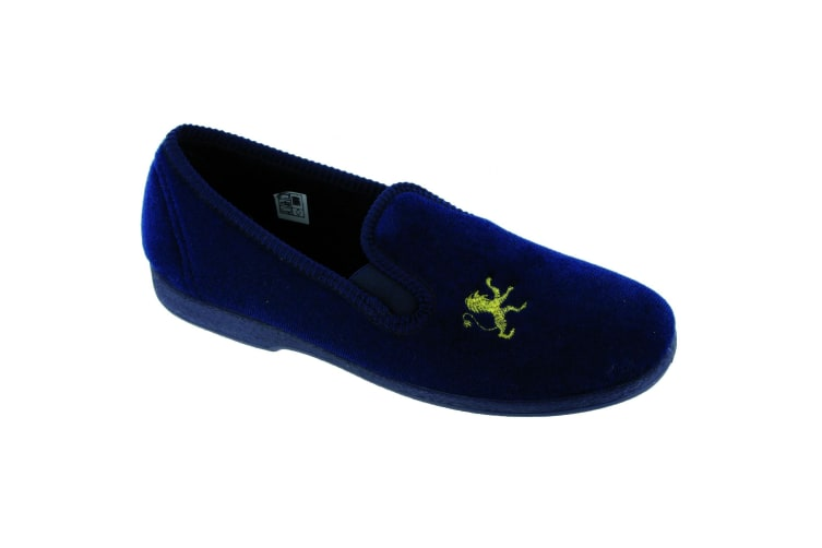 Mirak Childrens/Kids Spider Warminster Slipper / Boys Slippers (Navy) (13 UK Junior)