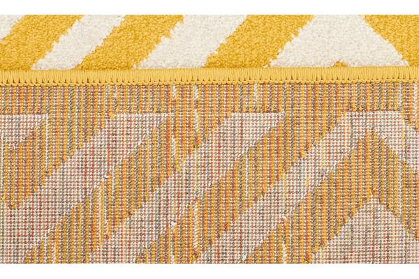 Indoor Outdoor Matrix Rug Yellow 230x160cm