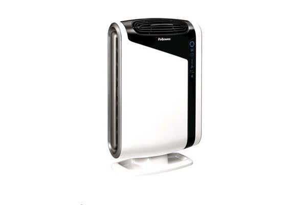 Fellowes AeraMax DX95 Air Purifier w/4-stage hospital-type filtration &AeraSmart Sensor monitors
