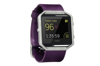 Fitbit Blaze Smart Fitness Watch (Small, Plum)