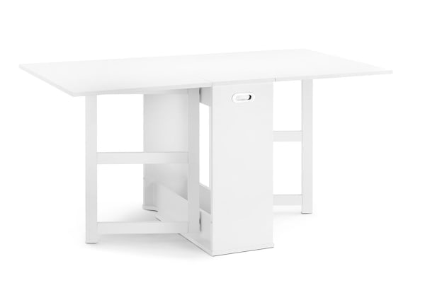 Shangri-La Extendable Dining Table - Brighton Collection (White)