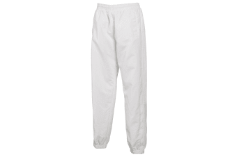 Tombo Teamsport Mens Sports Lined Tracksuit Bottoms / Jog Pants (White)