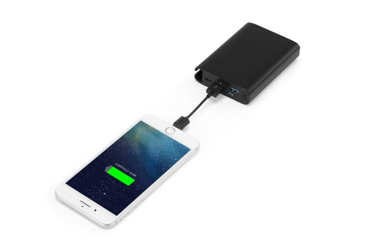 Kogan 10000mAh Power Bank with Built-In Cable Slot