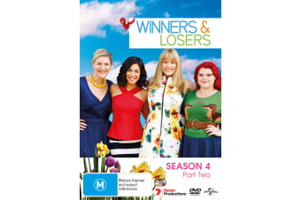 Winners & Losers Season 4 Part Two DVD Region 4