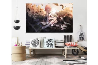 3D Magic Girl 973 Anime Wall Stickers Self-adhesive Vinyl, 180cm x 100cm(70.8'' x 39.3'') (WxH)