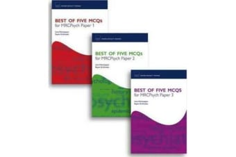 Best of Five MCQs for MRCPsych Papers 1, 2 and 3 Pack