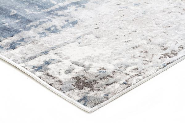 Roxana Distressed Timeless Rug Blue Grey White 290X200cm