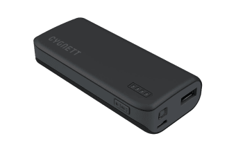 Cygnett ChargeUp Sport 4400mAh Power Bank - Black (CY1444PBCHE)