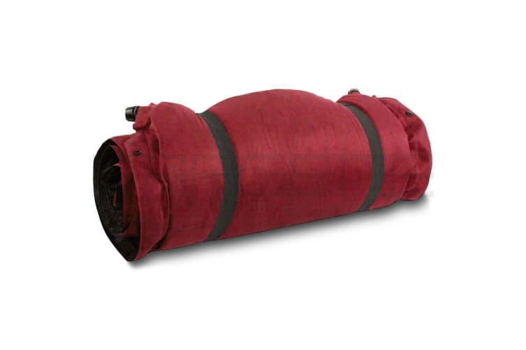 Self Inflating Mattress Sleeping Suede Mat Air Bed Camping Camp Hiking Joinable Red