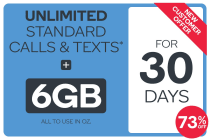 Kogan Mobile Prepaid Voucher Code: MEDIUM (30 Days | 6GB)
