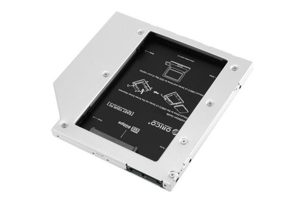 Orico SATA to SATA 2nd HDD Caddy for Laptops