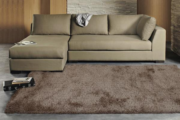 Twilight Shag Rug - Latte 165x115cm