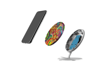 QI Wireless Charger For iPhone XR XS MAX Samsung Galaxy S10 S10+ S10e  Magic