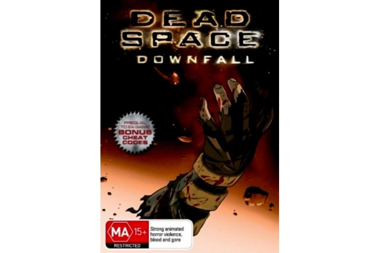 Dead Space - Downfall -Animated Rare- Aus Stock DVD PREOWNED: DISC LIKE NEW