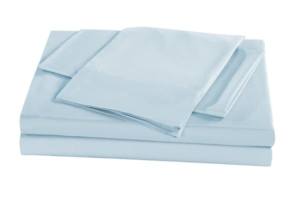 Royal Comfort 100% Natural Bamboo Bed Sheet Set (King, Chambray)