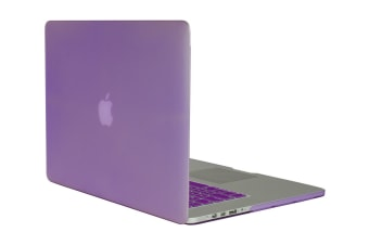 "Frosted Hard Cover for MacBook Pro 15"" with Retina (Amethyst)"