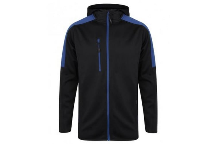 Finden & Hales Childrens/Kids Boys Active Soft Shell Jacket (Navy/Royal) (11/12 Years)