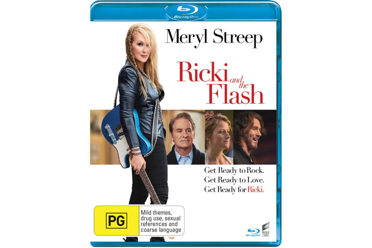 Ricki and the Flash Blu-ray Region B