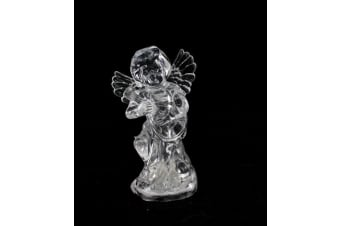 4 x11cm Colour Changing Christmas Flashing Light Up Cupid Xmas Home Party Decor