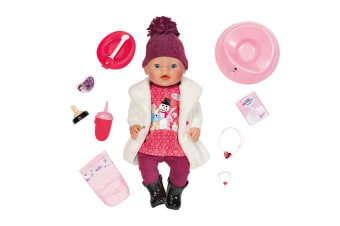 Baby Born Interactive Snow Girl Doll