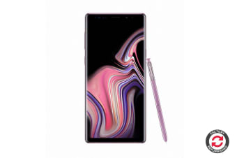 Refurbished Samsung Galaxy Note9 Dual SIM (128GB, Lavender Purple)