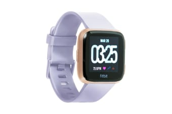 Fitbit Versa Smart Fitness Watch (Peach)
