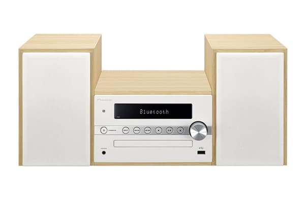 Pioneer DAB+ Micro Hi-Fi Sound System with Bluetooth Speaker - White (CM56DW)
