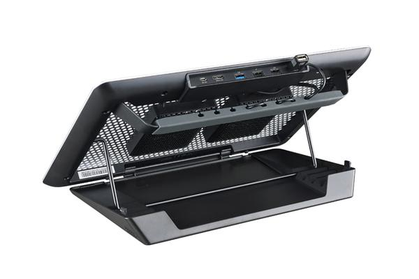 "Coolermaster Master NotePal Maker Notebookcooler. Up to 17"" laptops. Detachable USB3 Hub and base + Fans. Ultimate mobile Station."