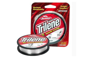 1 x Spool of Berkley Trilene Mono Fishing Line - Clear Monofilament Line [Metres/Breaking Strain: 300yd Spool of 12lb]