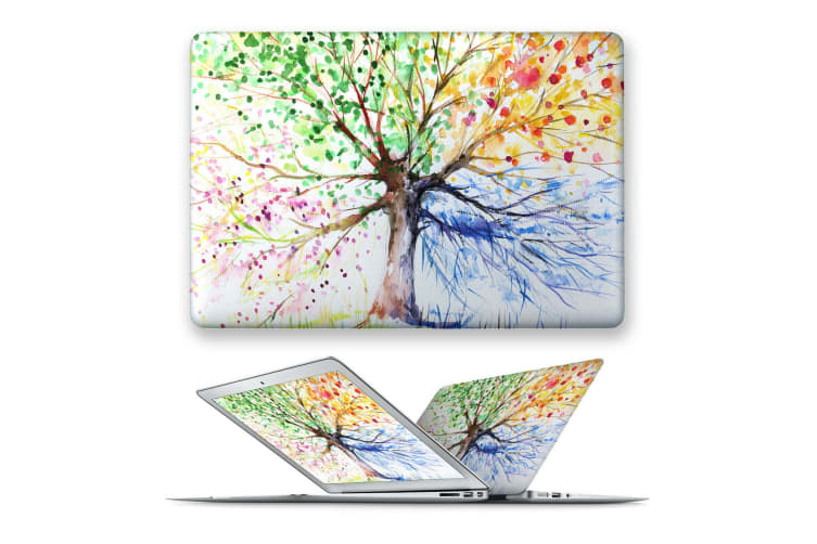 hard case cover for apple macbook pro 13 touch bar ID A1707 A1989 A1990 A2159-91Watercolor-BeeNest