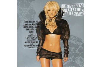 Greatest Hits: My Prerogative by Britney Spears BRAND NEW SEALED MUSIC ALBUM CD