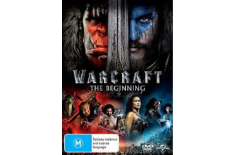 Warcraft The Beginning DVD Region 4