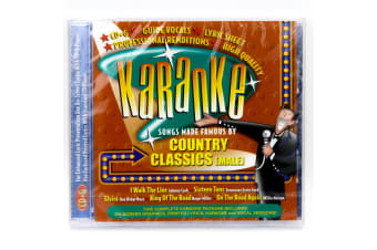 Karoake - Country Classics (Male) BRAND NEW SEALED MUSIC ALBUM CD - AU STOCK