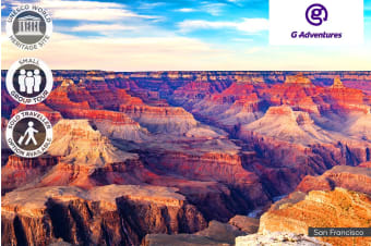 USA: 8 Day Western Express Small Group Tour for One or Two