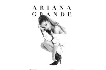 Ariana Grande Official Poster (Black/White)