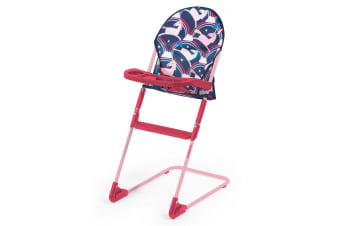 Cosatto Pretzel 66cm Doll's High Chair Magic Unicorn Pretend Play Role Kids 3y+