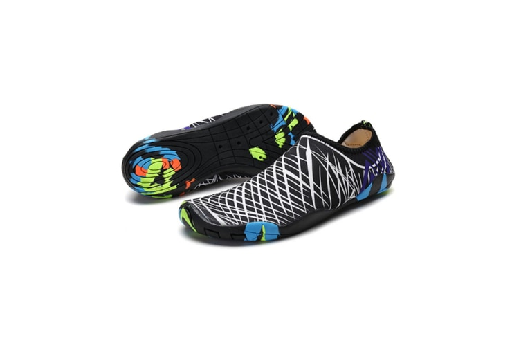 Beach Snorkeling Shoes Diving Lovers Wading Shoes Swimming Shoes 988 White 44