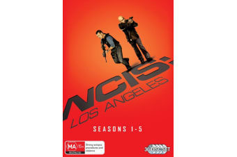 NCIS Los Angeles Seasons 1-5 Box Set DVD Region 4