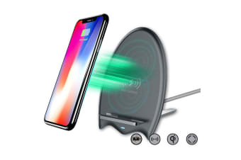 Sansai 5V 9V Wireless Qi Car Charger Charging Stand for iPhone X 8 Plus/Samsung