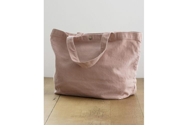 Bags By Jassz Small Canvas Shopper (Primrose Pink) (One Size)