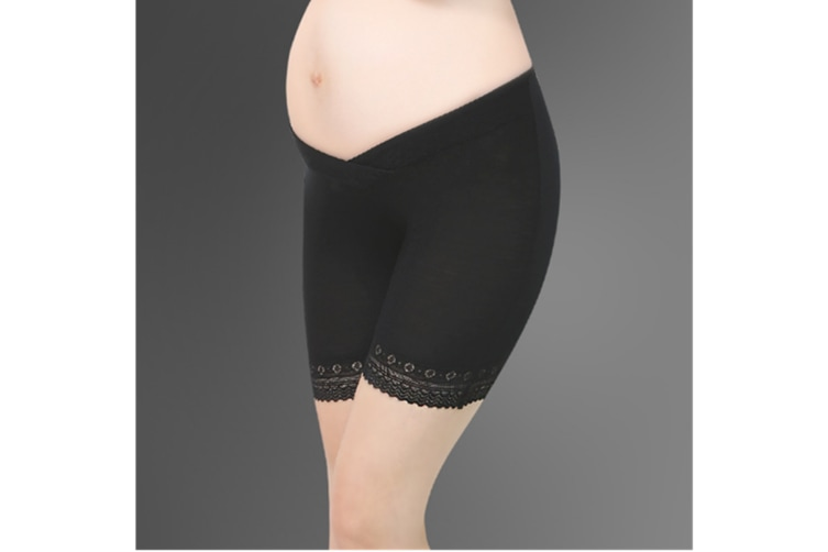 (2 Pack) Pregnant Women Wear Bottompants,Safety Pants To Prevent Low Light Waist Dressing - 11 L