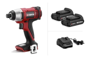 Certa PowerPlus 18V Impact Driver Power Pack