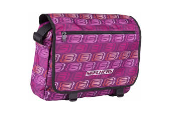 Skechers Unisex Original Messenger Bag (Fuchsia)