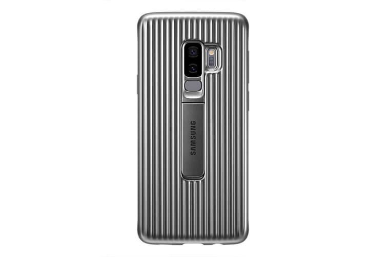 Samsung Galaxy S9+ Plus Protective Standing Cover - Grey