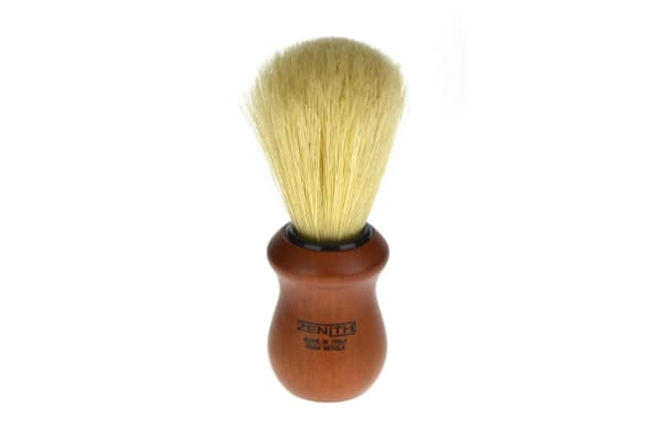 Zenith Shaving Brush Red Wood