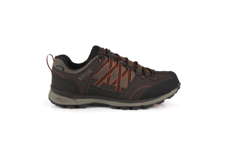 Regatta Mens Samaris Low II Hiking Boots (Peat/Burnt Umber) (12 UK)